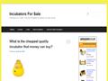 Incubators For Sale