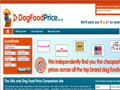 The UK's Only Dog Food Price Comparison Site - DogFoodPrice.co.uk