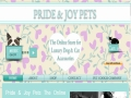 Pride and Joy Pets - the online store for luxury pet accessories