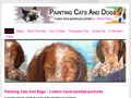 Painting Cats and Dogs - Family pet portraits by Tianna Fisher
