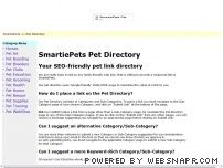 SmartiePets Pet Directory - Pet Links