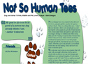 Not So Human Tees - Novelty Animal T-Shirts, Custom Designed Prints, Cafe Press, Pets, Dog Shirts