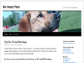 We Heart Pets Blog